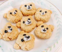 小熊燕麦饼干的做法