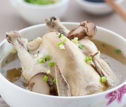 美味营养松茸鸡汤的做法