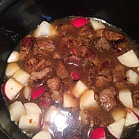 家常菜-红焖羊肉萝卜煲-海鲜酱版的做法图解7