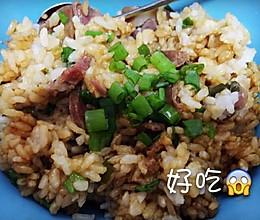 腊肉煲仔饭(电饭锅版)的做法