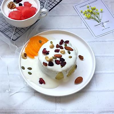 酸奶甜栗薯坚果蛋糕