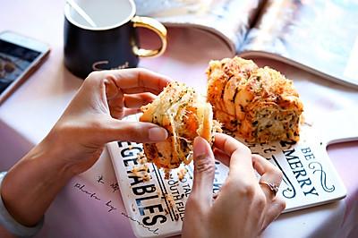 肉松海苔手撕面包