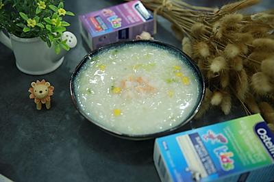 虾仁玉米蔬菜粥