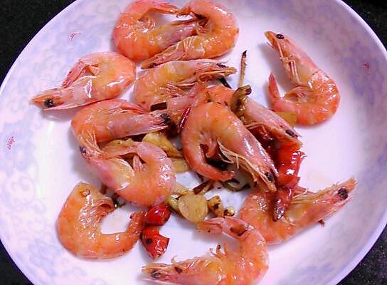 香辣大虾的做法