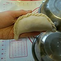 莜面素馅饼#金龙鱼外婆乡小榨菜籽油#的做法图解11