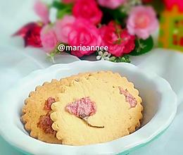 樱花饼干#樱花味道#的做法