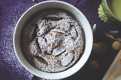 白兰地巧克力酱烤梨蛋糕【安卡西厨】