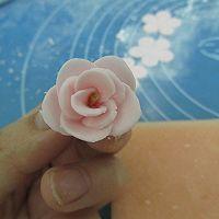 换个方式做翻糖花---翻糖蛋糕(七)---桃花盛开的做法图解32
