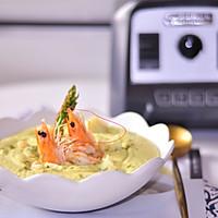 大虾毛豆花椰菜浓汤