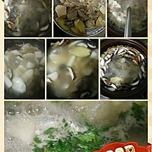香菇山药枸杞炖鸡汤