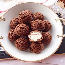 #换着花样吃早餐#巧克力可可酥皮泡芙
