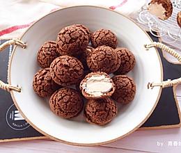 #换着花样吃早餐#巧克力可可酥皮泡芙的做法