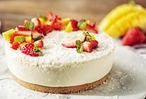 椰子慕斯水果蛋糕,再也没有比这更香浓的椰香甜品了的做法