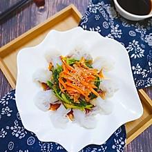 #爽口凉菜,开胃一夏!魔芋菠菜沙拉