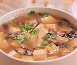 香菇豆腐汤的做法