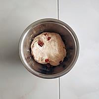 水解法全麦果干吐司(低糖低脂&全素无蛋料理)的做法图解6