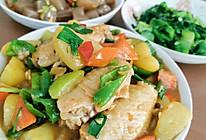 胡萝卜土豆烧鸡翅中的做法
