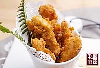 小羽私厨之薯片炸鸡柳的做法