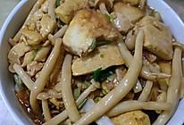 豆腐海鲜菇的做法