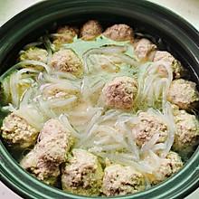 萝卜丝牛肉丸子汤(特别适合一岁以上宝宝和老人食用。)