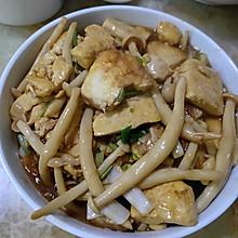 豆腐海鲜菇