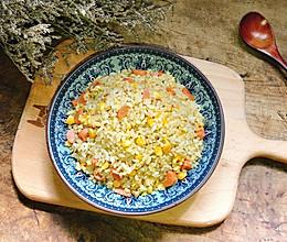 #我要上首焦#剩米饭的春天~家常蛋炒饭的做法