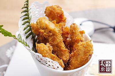小羽私厨之薯片炸鸡柳