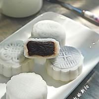 红豆沙冰皮月饼的做法图解7