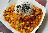 土豆番茄咖喱饭的做法