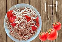 番茄炒面条的做法