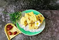 奶香玉米发糕#雀巢营养早餐#的做法