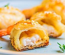 芝士酥皮虾的做法