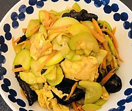葫芦瓜炒蛋的做法