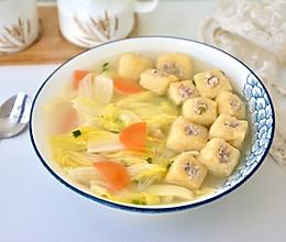 白菜油豆腐汤的做法