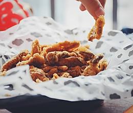 #钟于经典传统味#香炸平菇的做法