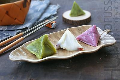 #甜粽VS咸粽,你是哪一黨?# 三彩冰粽