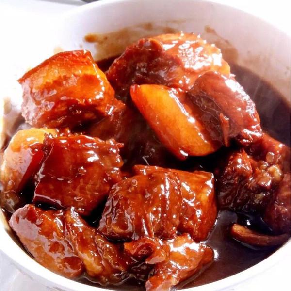用电饭锅炖的红烧肉的做法