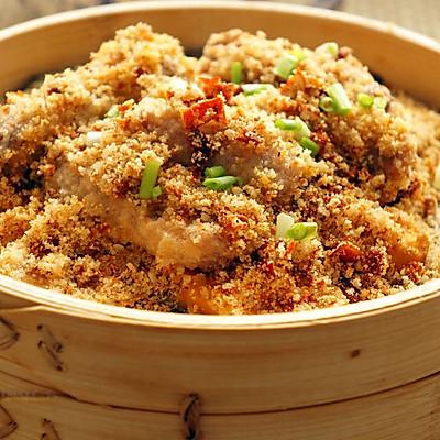 红薯蒸排骨(DIY米粉)