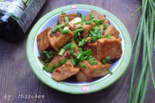 之香煎豆腐#菁选酱油试用#的做法