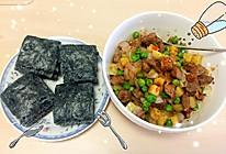 小炒牛肉粒#丘比沙拉汁#的做法