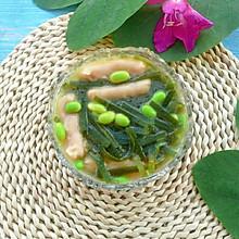 毛豆海带汤