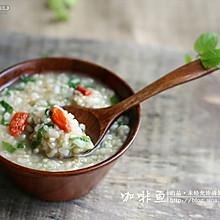 薄荷糙米粥