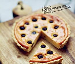 """蓝莓乳酪派 --- """"长帝行业首款3.5版电烤箱CKTF-3的做法"""