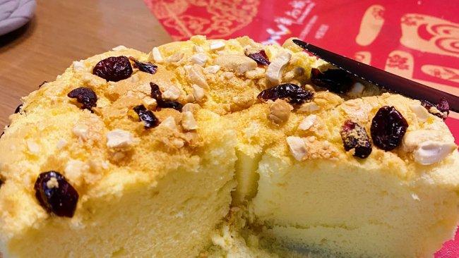 6寸蔓越莓古早蛋糕的做法