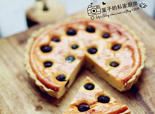 """蓝莓乳酪派 --- """"长帝行业首款3.5版电烤箱CKTF-3"""