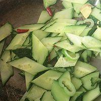 『家夏』家常黄瓜炒鸡蛋 超级美味简单快手菜的做法图解4