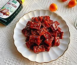 #百变鲜锋料理#追剧小食之蜜汁豆干的做法