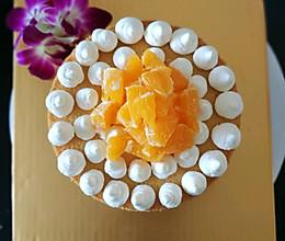 戚风蛋糕六寸的做法