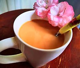 冬日#来一杯暖身暖心的焦糖奶茶的做法