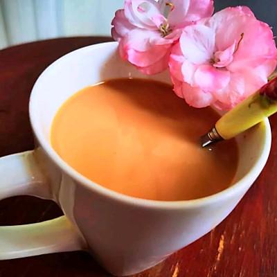 冬日#来一杯暖身暖心的焦糖奶茶